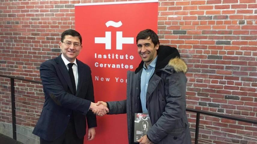 Encuentro entre LaLiga y el Instituto Cervantes en Nueva York