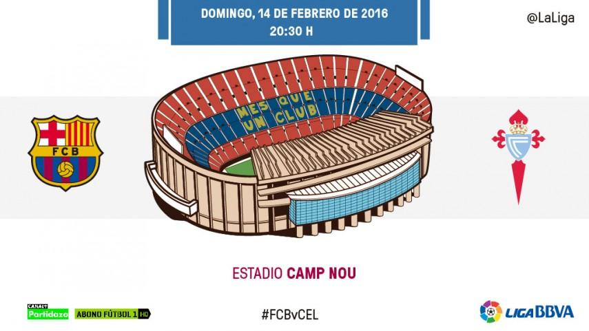 El RC Celta amenaza la felicidad del FC Barcelona