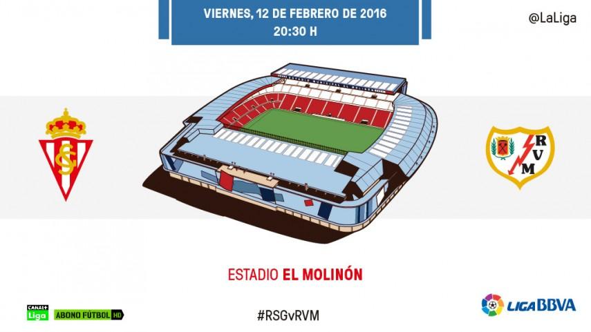 Sporting - Rayo: Rumbo directo a la permanencia