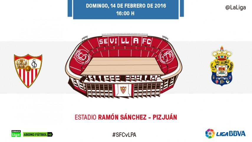 Las Palmas quiere colarse en la fiesta del Sevilla FC