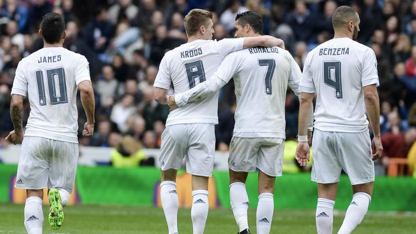 El Real Madrid mantiene su idilio con el Bernabéu