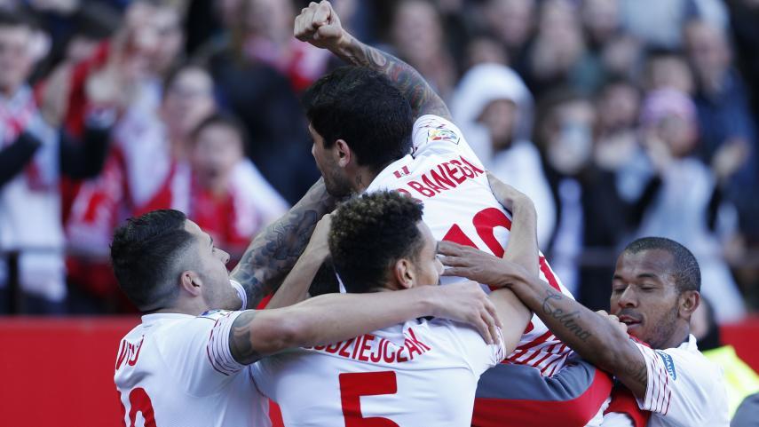 El Sevilla FC suma y sigue en el Sánchez Pizjuán