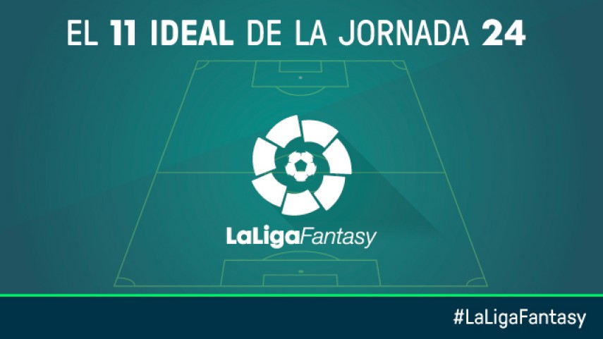 Once ideal de LaLiga Fantasy en la jornada 24