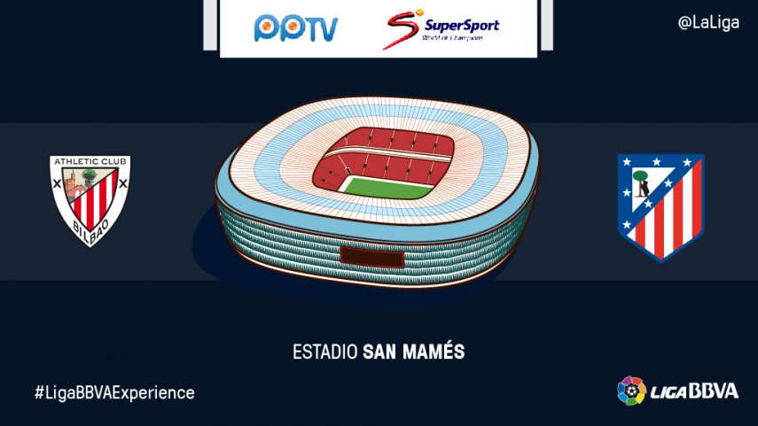 Los fans de PPTV y Supersport vivirán en directo el Athletic Club – Atlético de Madrid