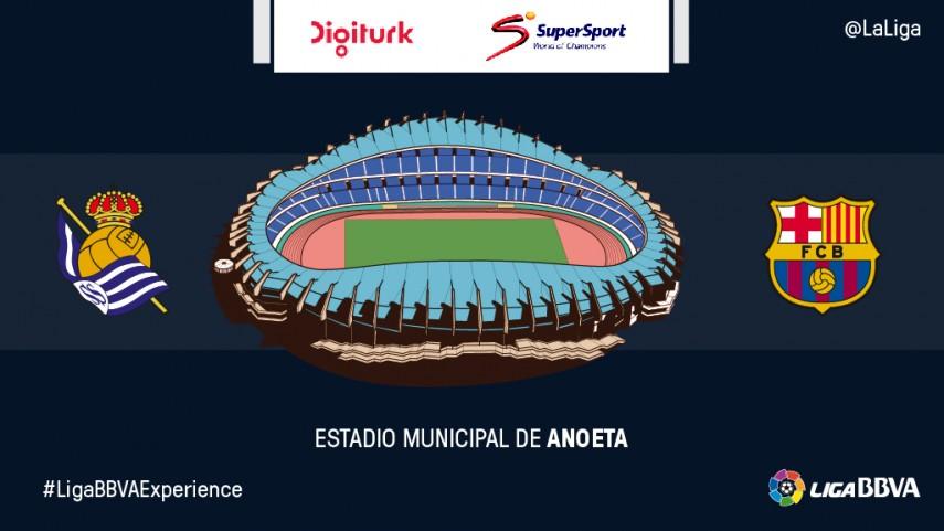 Seguidores de Digiturk y Supersport vivirán en primera persona el Real Sociedad-FC Barcelona