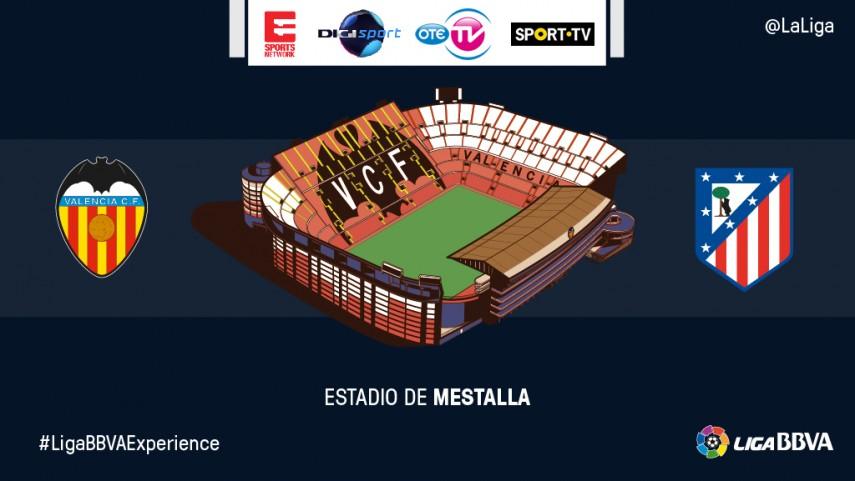 Espectadores de Eleven Sports Network, OTE TV, Sport TV y Digi Sport vivirán en Mestalla el Valencia - Atlético de Madrid