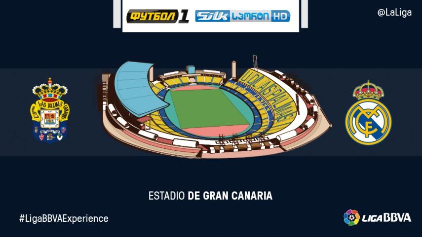 Espectadores de Silknet y Trkua disfrutarán en directo del Las Palmas - Real Madrid