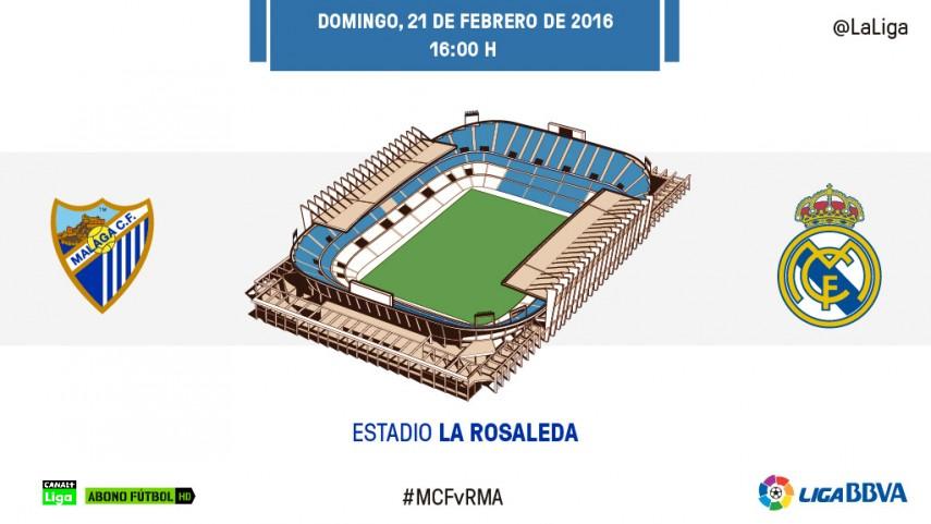 Un Cristiano Ronaldo lanzado ante la solidez defensiva del Málaga