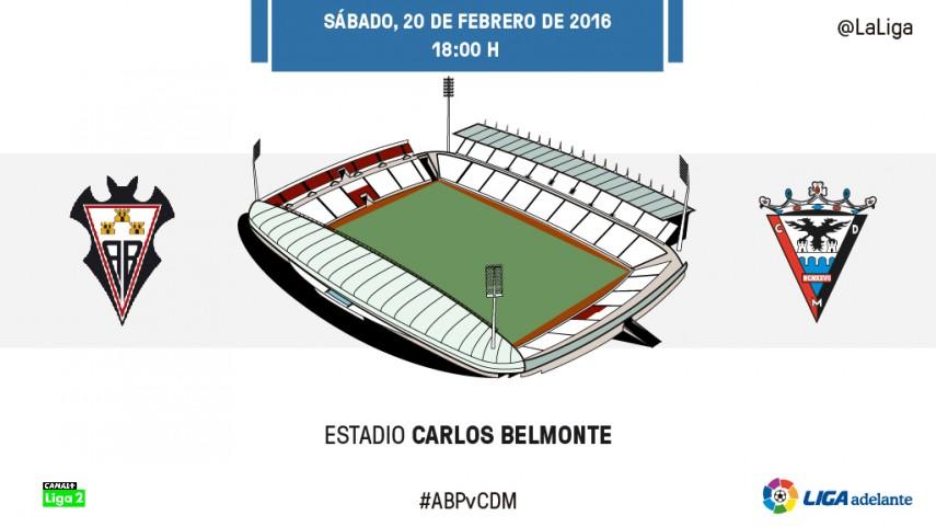 El Albacete quiere parar a un Mirandés lanzado
