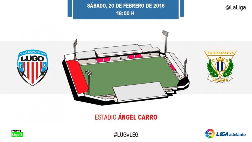 El Lugo quiere frenar a un fuerte Leganés