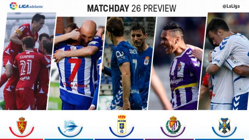 Liga Adelante Preview Matchday 26