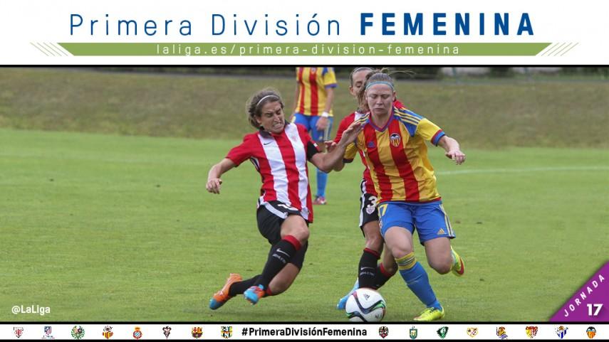 El Valencia de Mari Paz reta al Athletic, líder de la Primera División Femenina