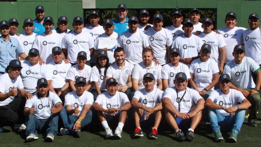 Clausura de la 2ª Fase del proyecto 'Escuela LaLiga San Salvador'