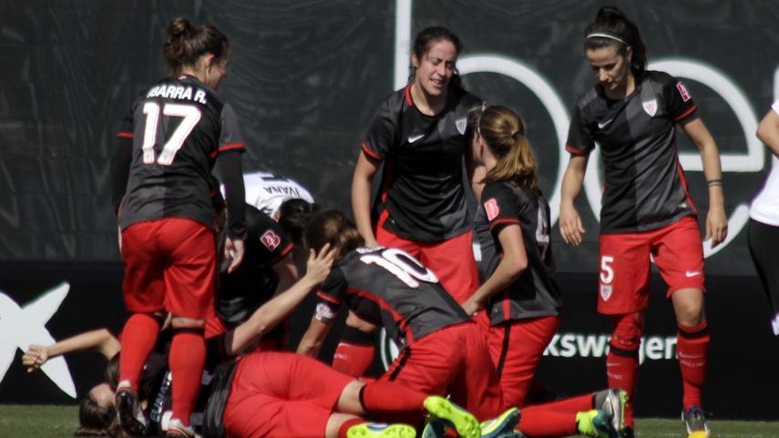El Athletic, líder en solitario de la Primera División Femenina una jornada más