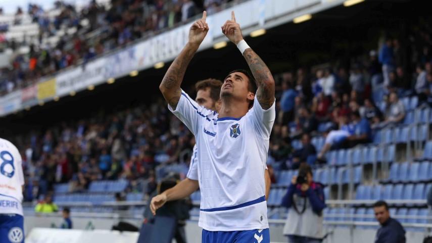 Nano, el goleador más efectivo del Tenerife