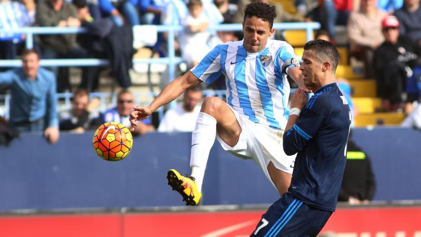 Un buen Málaga frena al Real Madrid