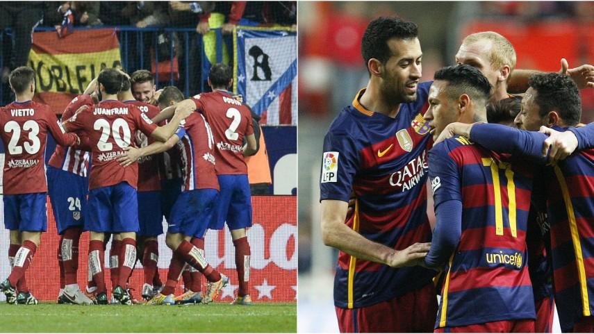 FC Barcelona y Atlético de Madrid, a seguir imponiendo su ley en Europa