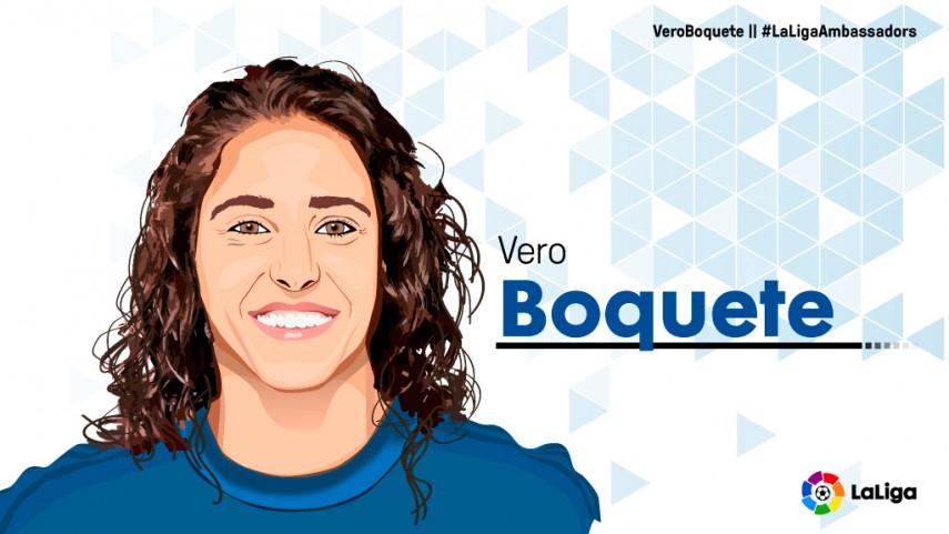 Vero Boquete, nueva Embajadora de LaLiga