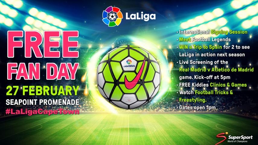 Los concursos también serán protagonistas en #LaLigaCapeTown
