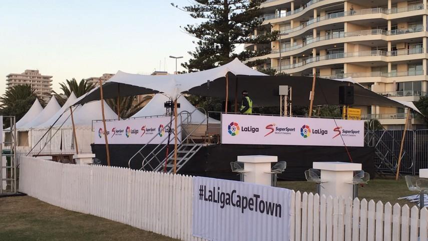 Ciudad del Cabo se viste de gala para celebrar #LaLigaCapeTown