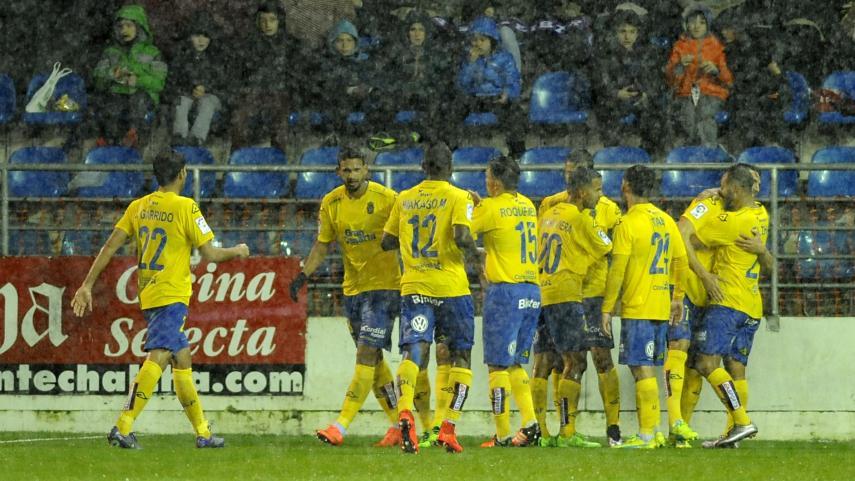 Bigas le da a Las Palmas su primera victoria a domicilio
