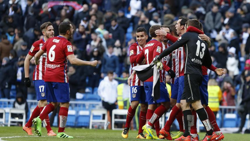 Griezmann decide el derbi madrileño