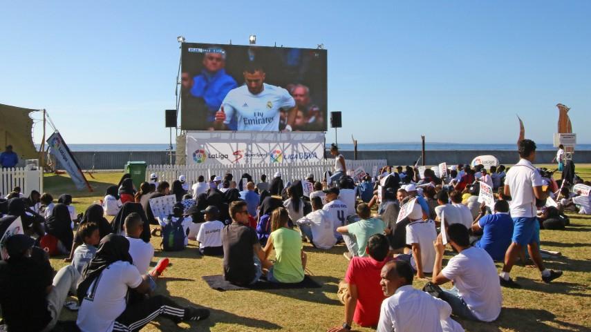 Ciudad del Cabo disfruta del derbi madrileño gracias a #LaLigaCapeTown