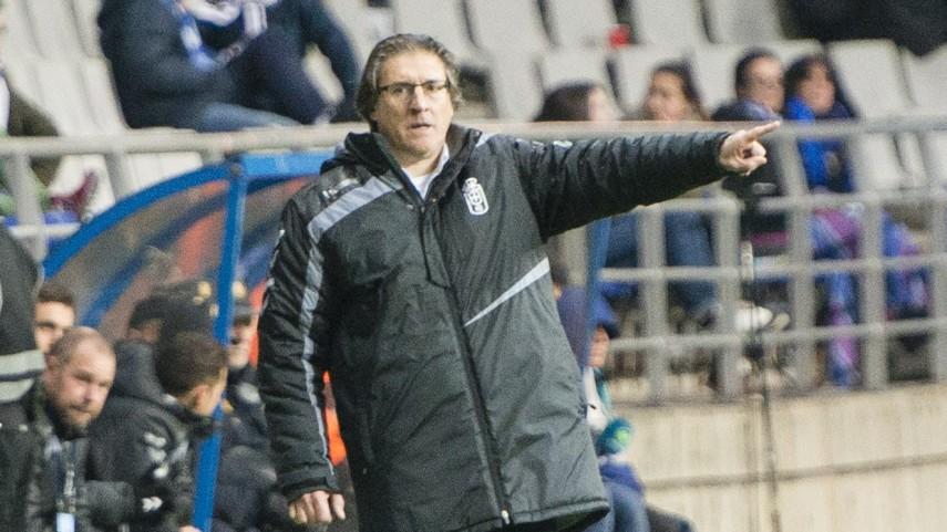 Sergio Egea deja de ser técnico del Real Oviedo