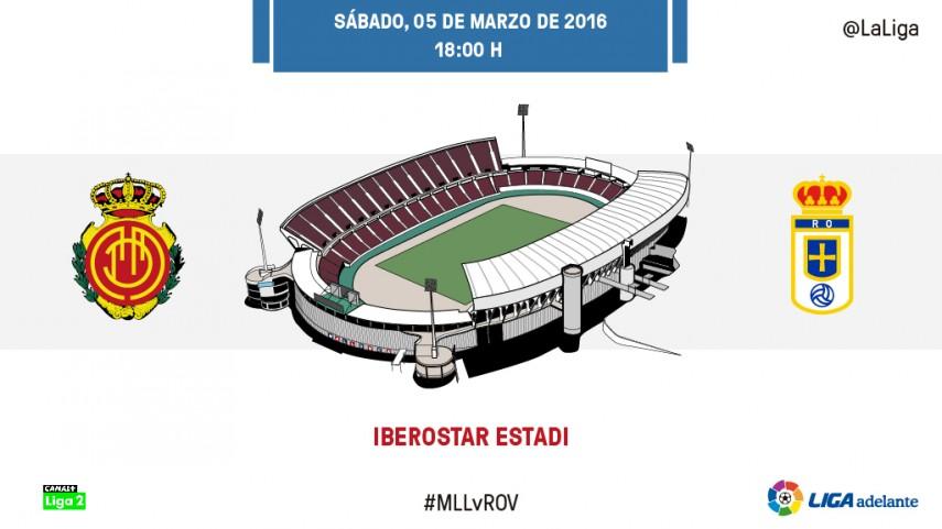 El Oviedo quiere hacerse fuerte ante un Mallorca centenario