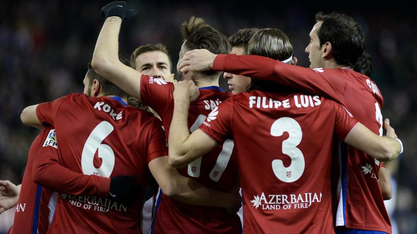 El Atlético sigue al alza