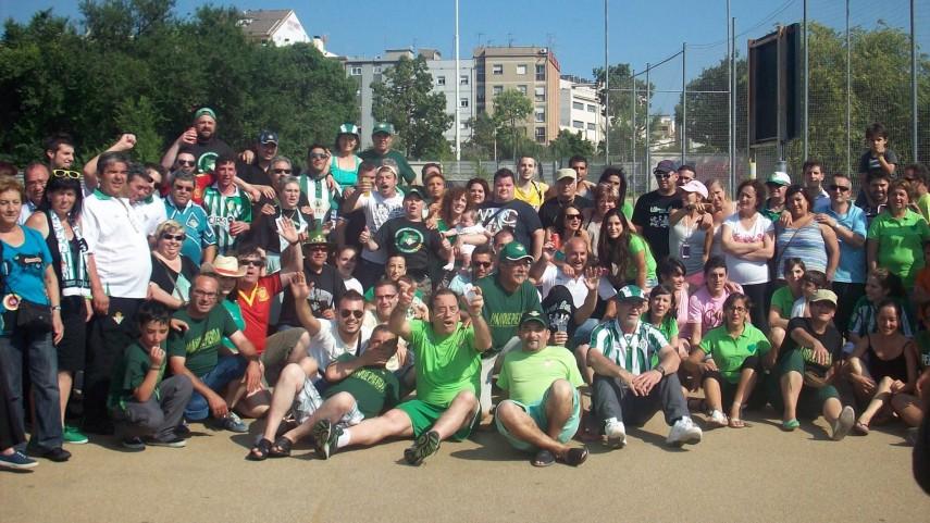 El Espanyol-Betis, un partido en familia