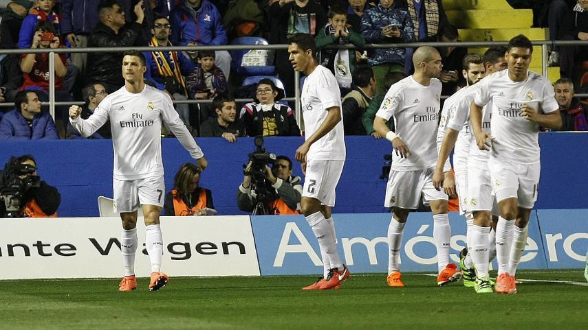 El Real Madrid se cura las heridas ante el Levante