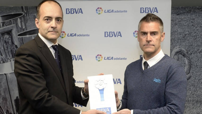 Lluis Carreras named Liga Adelante Manager of the Month for February