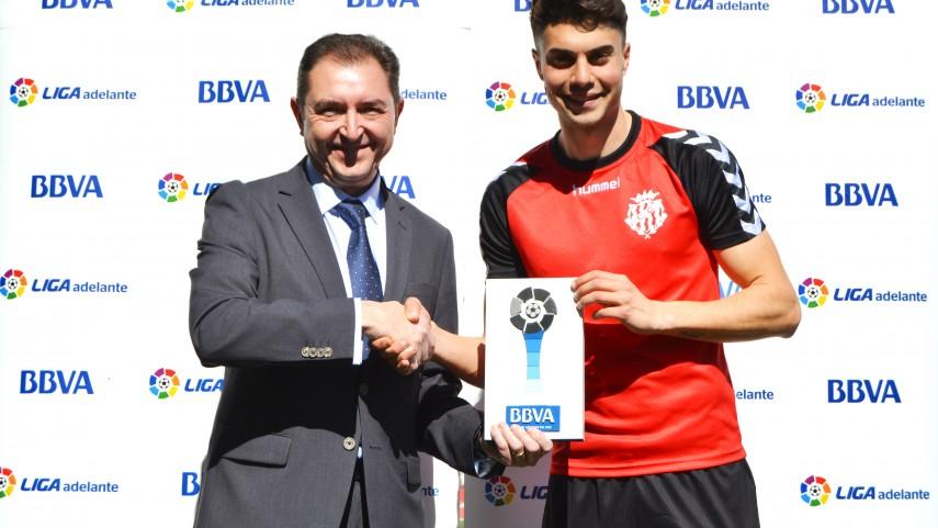 José Naranjo, mejor jugador de la Liga Adelante en febrero