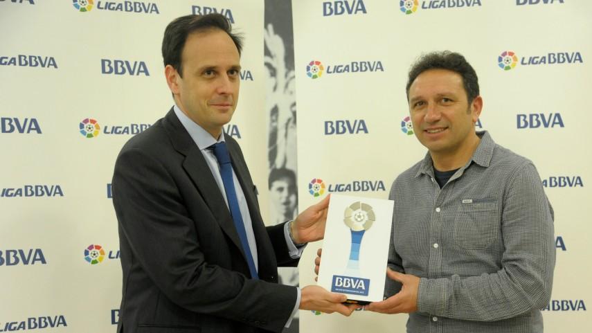 Eusebio Sacristán, mejor entrenador de la Liga BBVA en febrero