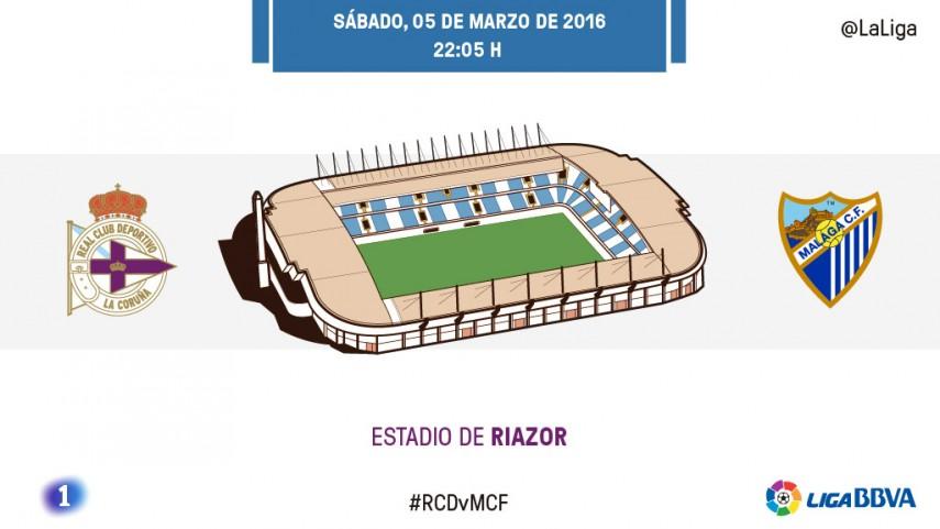 Deportivo y Málaga, en busca de la recuperación