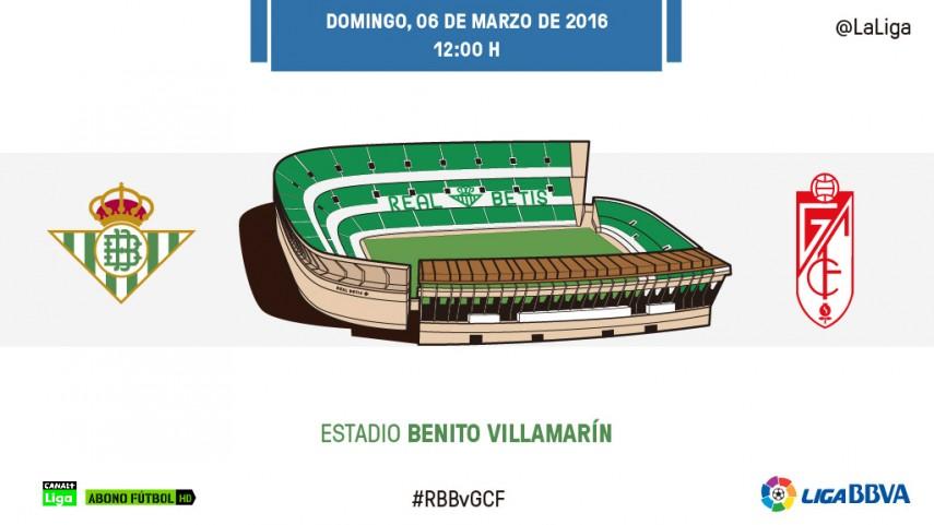 Todo al gol entre Betis y Granada