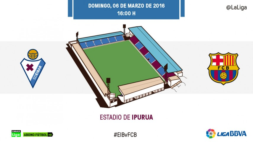 Borja Bastón, contra el tándem Suárez-Messi