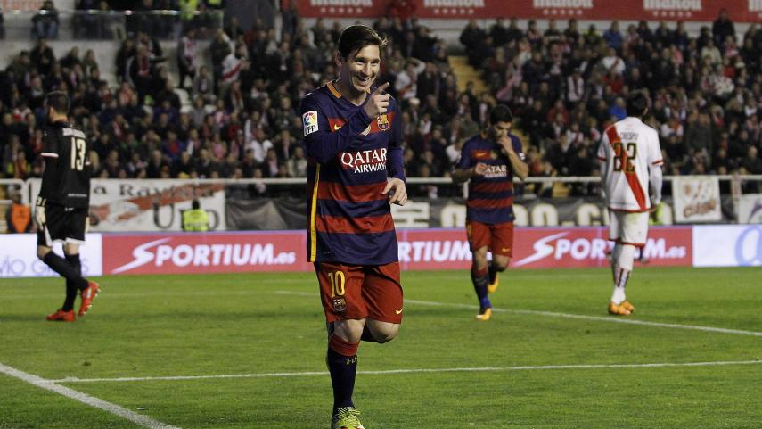Messi evita relajaciones en el Barcelona