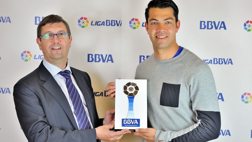 Miku named Liga BBVA Player of the Month for February