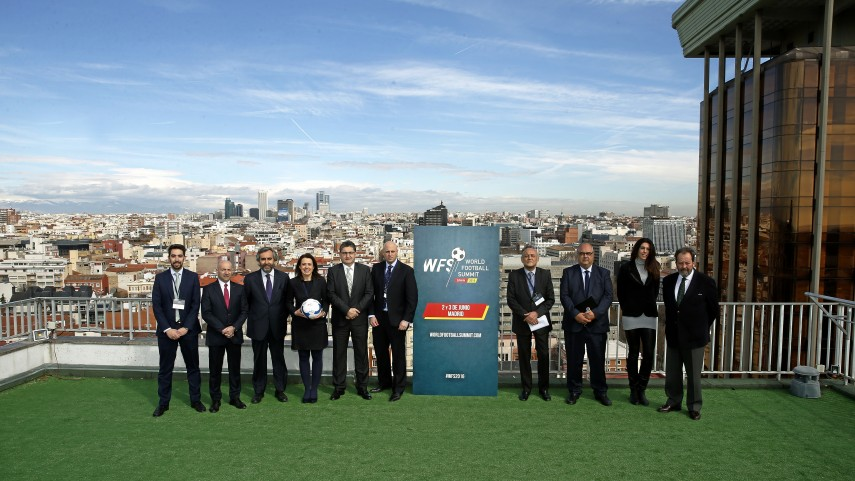 LaLiga participa en la presentación del 'World Football Summit'