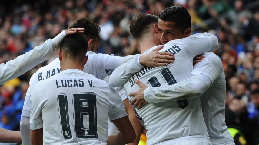 Exhibición de pegada del Real Madrid ante el Celta