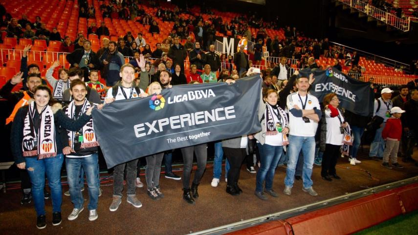 Los goles y la emoción pusieron la guinda a la #LigaBBVAExperience