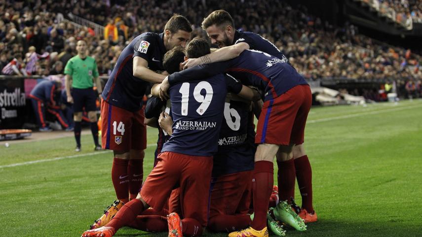 El Atlético 'asusta' lejos del Calderón