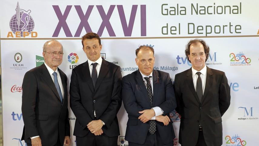 LaLiga acompañó a la Asociación Española de la Prensa Deportiva en su gala anual