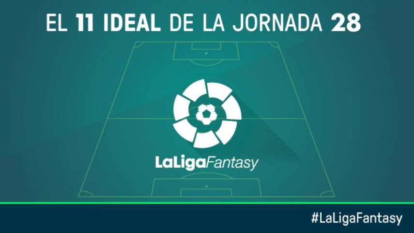Once ideal de LaLiga Fantasy en la jornada 28