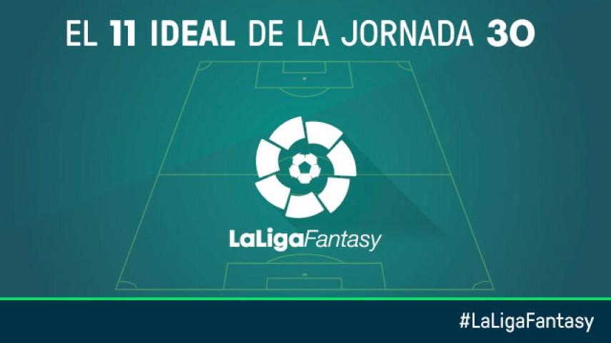 Once ideal de LaLiga Fantasy en la jornada 30