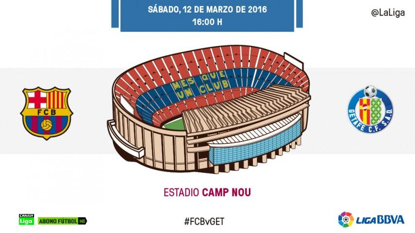 El Barcelona quiere seguir sumando ante el Getafe