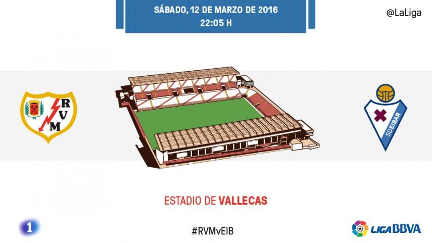Los de Paco Jémez se aferran a Vallecas para ganar al Eibar