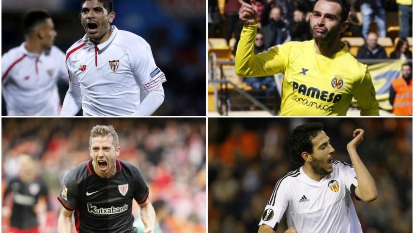 Sevilla, Villarreal, Athletic y Valencia empiezan su camino en octavos de la Europa League
